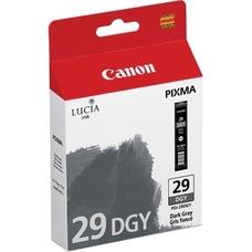 Eredeti Canon PGI-29DGY sötét szürke patron