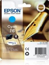 Eredeti Epson 16 ciánkék patron