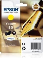 Eredeti Epson 16 sárga patron