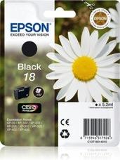 Eredeti Epson 18 fekete patron