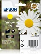 Eredeti Epson 18 sárga patron