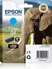 Eredeti Epson 24 ciánkék patron