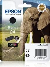 Eredeti Epson 24 fekete patron