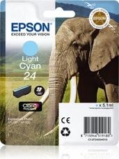 Eredeti Epson 24 világos ciánkék patron