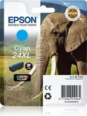 Eredeti Epson 24XL ciánkék patron