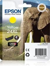 Eredeti Epson 24XL sárga patron