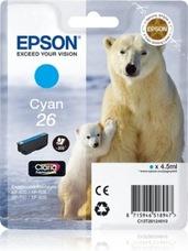 Eredeti Epson 26 ciánkék patron