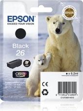Eredeti Epson 26 fekete patron