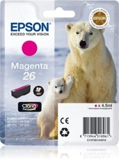 Eredeti Epson 26 magenta patron