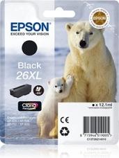 Eredeti Epson 26 XL fekete patron