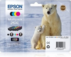 Eredeti Epson 26 XL multipack (négy színű)