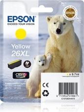 Eredeti Epson 26 XL sárga patron