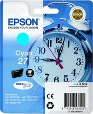 Eredeti Epson 27 ciánkék patron
