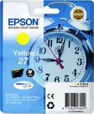 Eredeti Epson 27 sárga patron