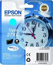 Eredeti Epson 27XL ciánkék patron