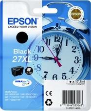 Eredeti Epson 27XL fekete patron