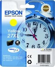 Eredeti Epson 27XL sárga patron