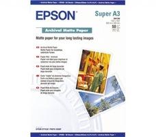 Epson Archival Matte Paper pigmentált tintához, A3+, 192g, 5