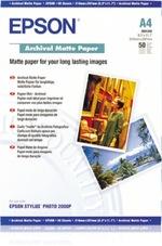 Epson Archival Matte Paper pigmentált tintához, A4, 189g, 50