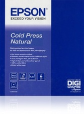 Epson Cold Press Natural Paper, 17col X 15m, 340g, tekercs