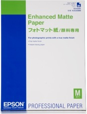 Epson Enhanced Matte Paper, A2, 192g, 50 lap