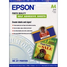 Epson Photo Quality Inkjet Paper, A4, 167g, 10 lap
