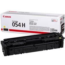 Eredeti Canon 054H sárga nagy kapacitású toner (CRG-054H)