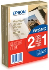 Epson Premium Glossy Photo Paper DUPLA csom 100X150mm, 255g,