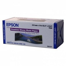 Epson Premium Glossy Photo Paper, 210mm X 10m, 255g, tekercs