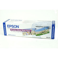 Epson Premium Glossy Photo Paper, 329mm X 10m, 255g, tekercs