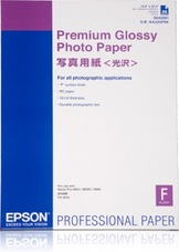 Epson Premium Glossy Photo Paper, A2, 255g, 25 lap