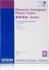 Epson Premium Semigloss Photo Paper, A2, 250g, 25 lap