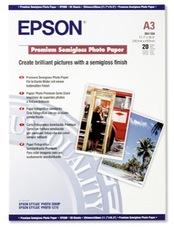 Epson Premium Semigloss Photo Paper, A3, 250g, 20 lap