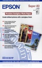 Epson Premium Semigloss Photo Paper, A3+, 250g, 20 lap