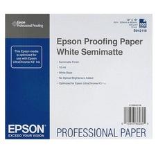 Epson Proofing Paper White Semimatte, A3+, 250g, 100 lap