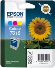 Eredeti Epson T018 színes patron