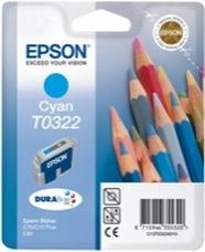 Eredeti Epson T0322 ciánkék patron