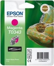 Eredeti Epson T0343 magenta patron