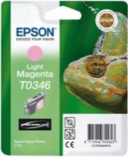 Eredeti Epson T0346 világos magenta patron