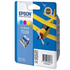 Eredeti Epson T039 színes patron
