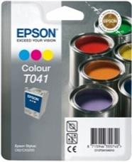 Eredeti Epson T041 színes patron