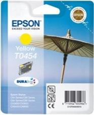 Eredeti Epson T0454 sárga patron