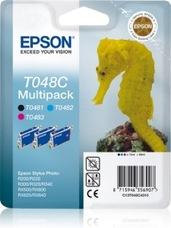 Eredeti Epson T048 multipack (ciánkék, magenta, fekete)