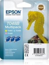 Eredeti Epson T048 multipack (sárga, világos ciánkék, világos magent