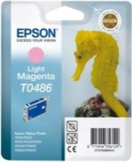 Eredeti Epson T0486 világos magenta patron