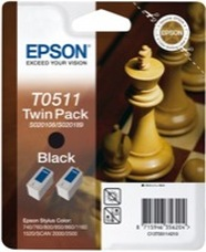 Eredeti Epson T0511 fekete multipack