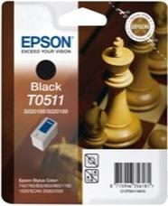 Eredeti Epson T0511 fekete patron