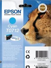 Eredeti Epson T0712 ciánkék patron