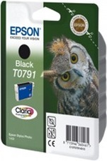 Eredeti Epson T0791 fekete patron