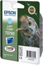 Eredeti Epson T0795 világos ciánkék patron